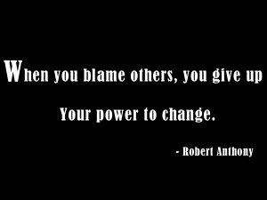 Quotes About Blame And Responsibility