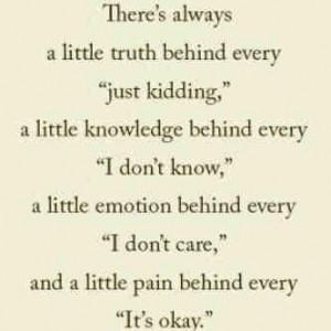 True Deep Sad Quotes