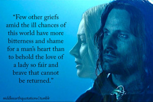 Aragorn to Éomer, The Return of the King, Book V, The Houses of ...