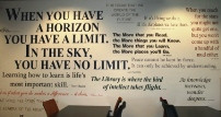 Wall of Quotes Display