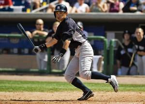 New York Yankees' Ichiro Suzuki bats during the seventh inning of a ...