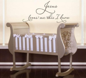 Jesus Loves Me This I Know Wall Art