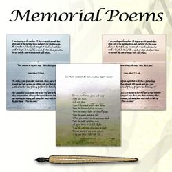 Memorial Poems