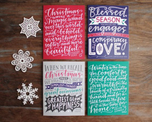 Holiday Print // Bob Hope Quote Modern by EmDashPaperCo on Etsy