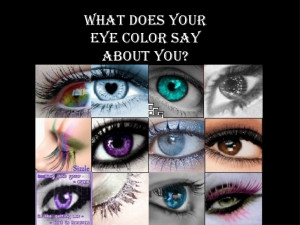 People With Green Eyes Sayings What does your eye color say