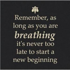 quote new beginning