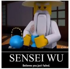 Sensei Wu Ninjago More Position Theme