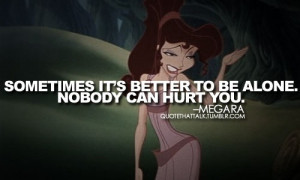 Disney Quotes / Megara from Hercules quote | We Heart It