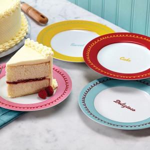 Cake Boss™ Serveware 4-pc. Quotes Dessert Plate Set