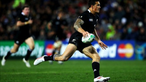 Sonny Bill Williams on the wing: