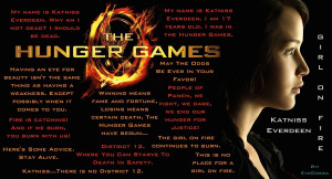 The Hunger Games Quotes by EveOmega