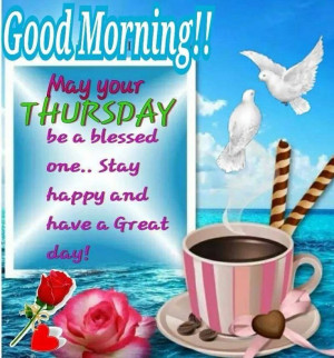 Good Morning Thursday Pictures, Photos, and Images for Facebook ...