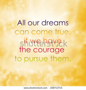life quote. Inspirational quote on abstract blur background ...