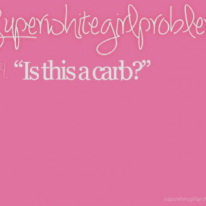 Ughh... Love hate relationship with carbs