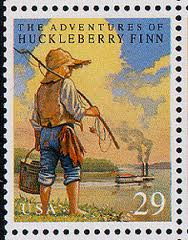 The adventures of huckleberry finn satire