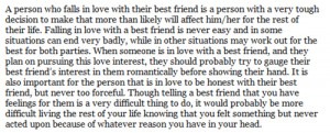Good Pix For Falling In Love With My Best Friend Quotes