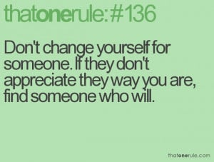 always stay true to who you are