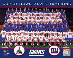 New York Giants Super Bowl