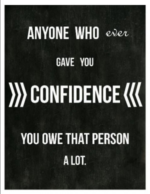 Confidence - Audrey Hepburn Quote from Breakfast at Tiffany's ...