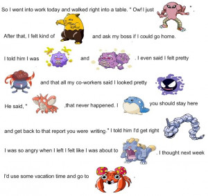 The Best Pokemon Joke/Pun You Can Think Of