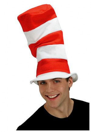 Adult Cat in the Hat Hat