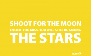 Shoot For The Moon wallpaper