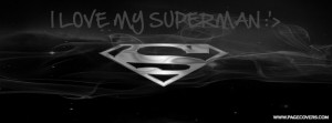 love my superman i love my super