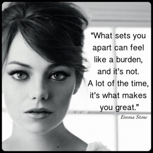 Emma Stone - beautiful, funny and smart!
