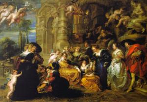 The Garden of Love Peter Paul Rubens