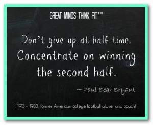 ... Paul Bear Bryant (1913 - 1983, former American college football player