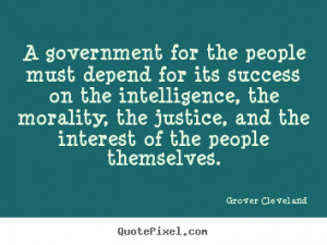 quotes and quotations by grover cleveland grover cleveland quotes