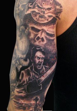 Ash Evil Dead Tattoo
