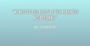 Walter Dean Myers Quotes