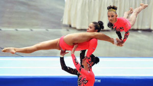 Acrobatic Gymnastics Pic of the Month Oct