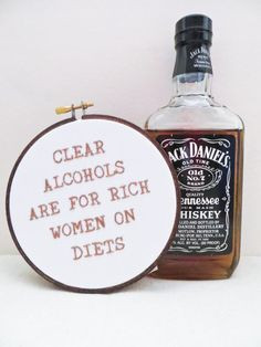 ... TV Quote - Clear Alcohols Are For Rich Women on Diets #funny #vodka