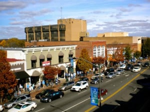 Downtown Chapel Hill NC