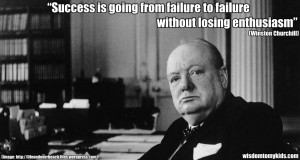 Famous success quotes by Winston Churchill
