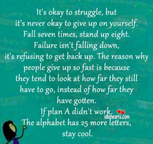Its Ok To Fail Quotes. QuotesGram