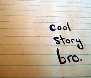 story bro, doodle, hand writing, meme, notebook, notebook paper, paper ...