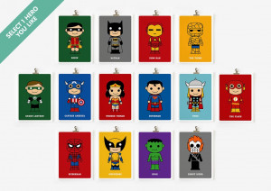 ... other options, you might like to check the retro 8-bit superheroes
