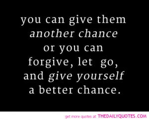 Give Me A Chance Quotes Another chance