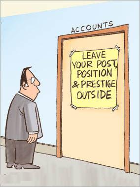 Office humor jokes-Post, Position & Prestige