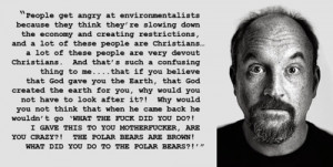 Louis CK: Shouldn't All Christians be Environmentalists?