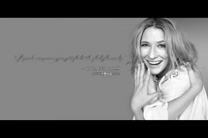 Free 1920 x 1280 Wallpaper. Quote by Cate Blanchett. Design by Sally ...