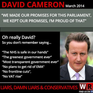 ... the Resignation of David Cameron – government not fit for purpose