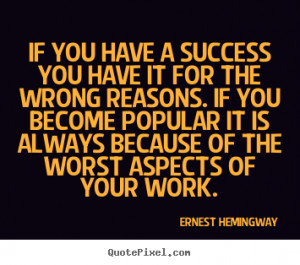 Ernest Hemingway Motivational Quote Wallpaper Inspirational Quotes
