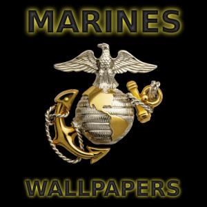 USMC Marine Corps Logo Wallpaper