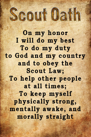 Boy Scout Oath and Law