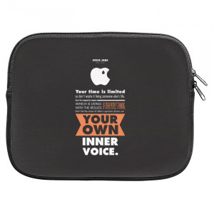 Steve Jobs Life Quotes Zipper Pouch