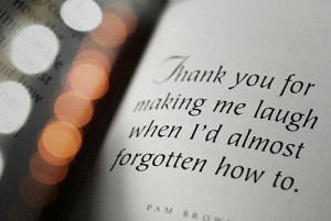 Forgotten thank you quotes